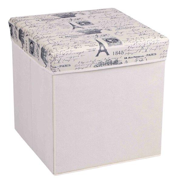 Paris Cube Ottoman by Home Basics