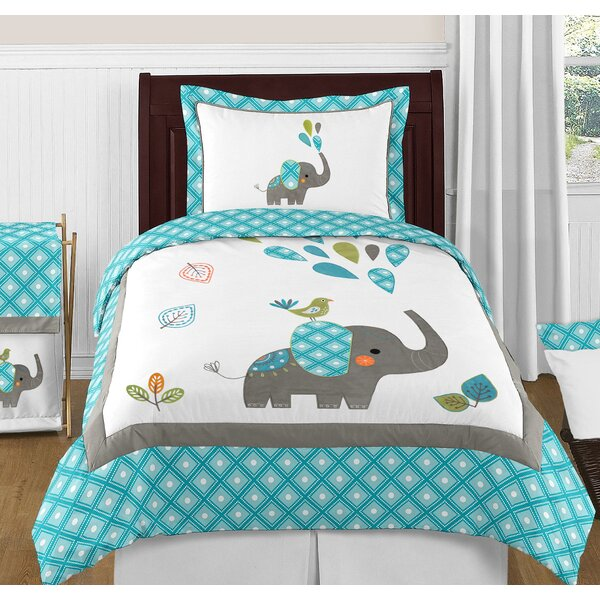 Mod Elephant Comforter Set by Sweet Jojo Designs