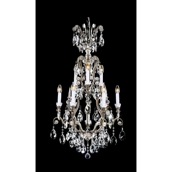 Switzer 10-Light Candle Style Tiered Chandelier by Astoria Grand Astoria Grand