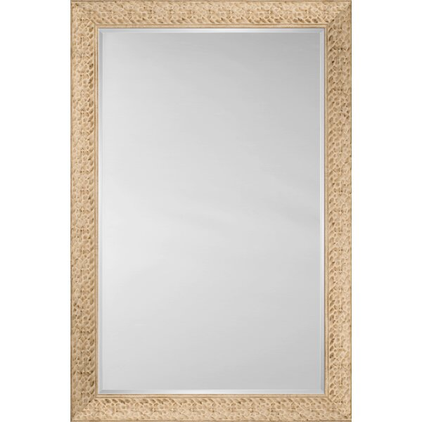 Mirror Style 81111 - Flat Face Embossed Ivory by Mirror Image Home