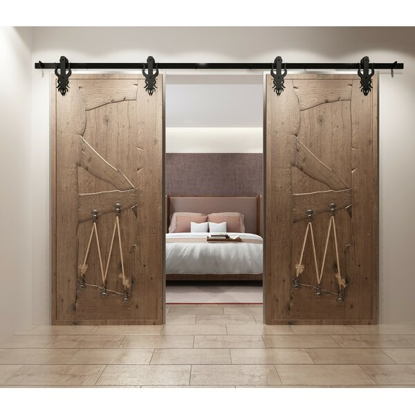 Double Imperial Barn Door Hardware by Vancleef