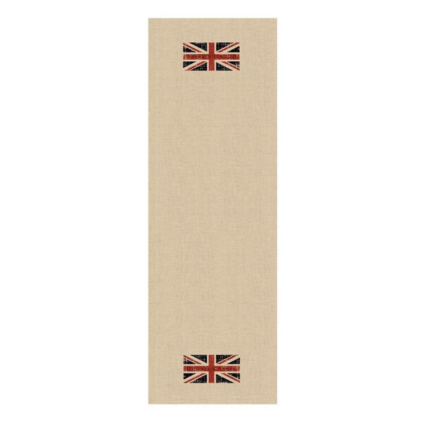 Downton Abbey British Union Jack Decorative Table Runner by Northlight Seasonal