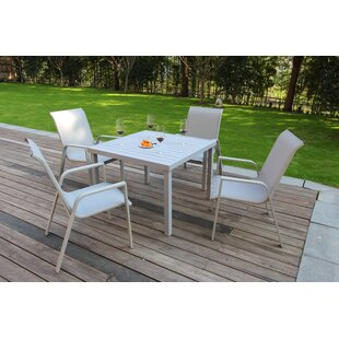 Vivian 5 Piece Dining Set By Ebern Designs