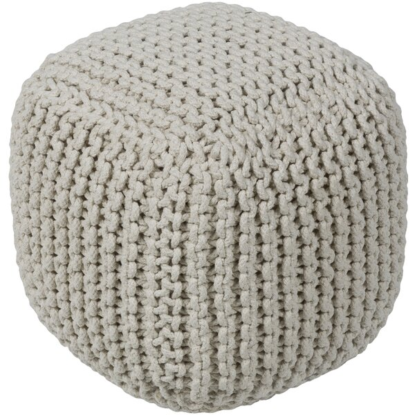 Battlement Pouf by Bungalow Rose
