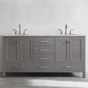save beachcrest home newtown 72 double bathroom vanity set - Double Sink Bathroom Vanities