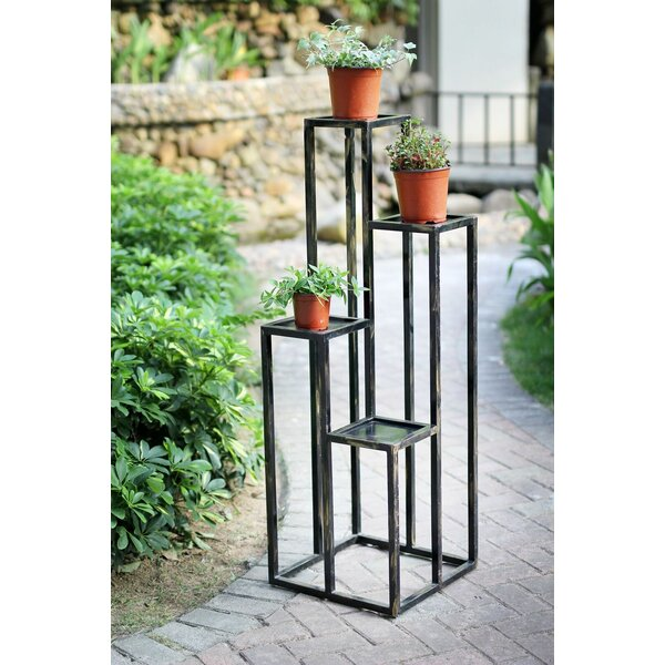 4 Tier Cast-Iron Plant Stand by ORE Furniture