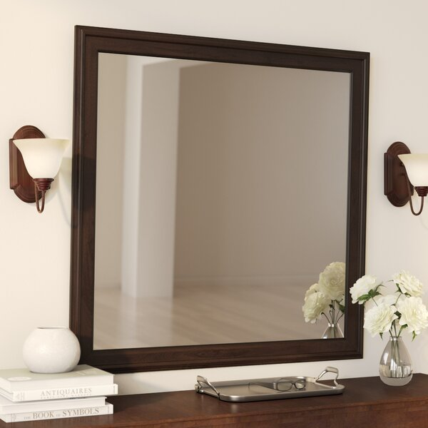 Richard Square Dresser Mirror by Charlton Home