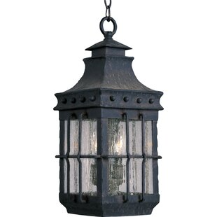 Affordable Hefley 3-Light Outdoor Hanging Lantern By Loon Peak