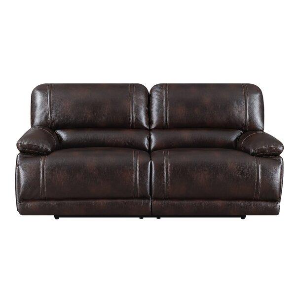 Leyla Reclining Sofa by Winston Porter