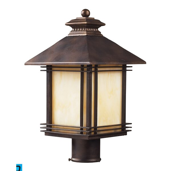 Federal Heights 1-Light LED Lantern Head by Loon Peak