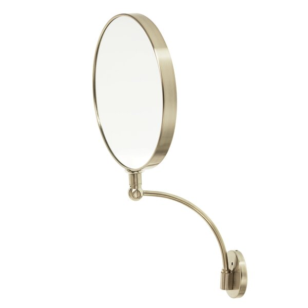 10x Arched Round Wall Mounted Mirror by Danielle Creations