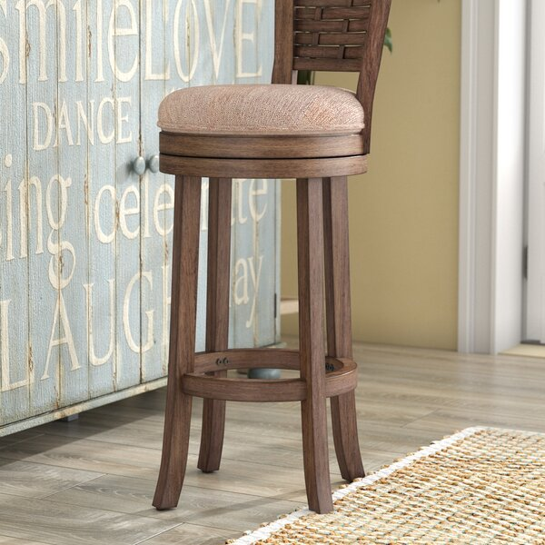 Amethyst 30 Swivel Bar Stool by Beachcrest Home