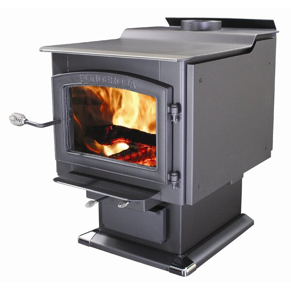 Ponderosa 3,200 sq. ft. Direct Vent Wood Stove by Vogelzang