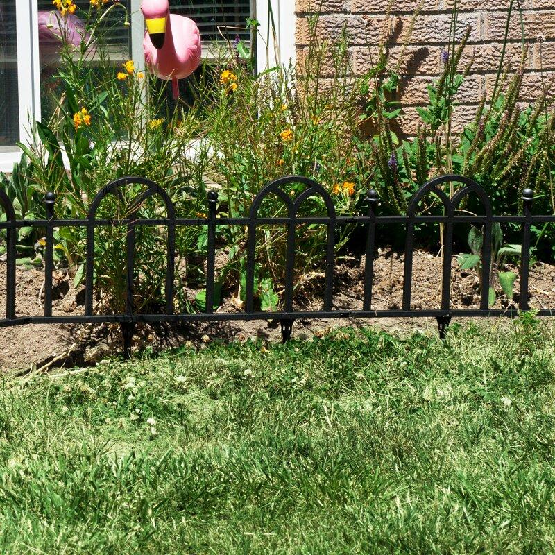 Marvelous Victorian Garden Border Fencing