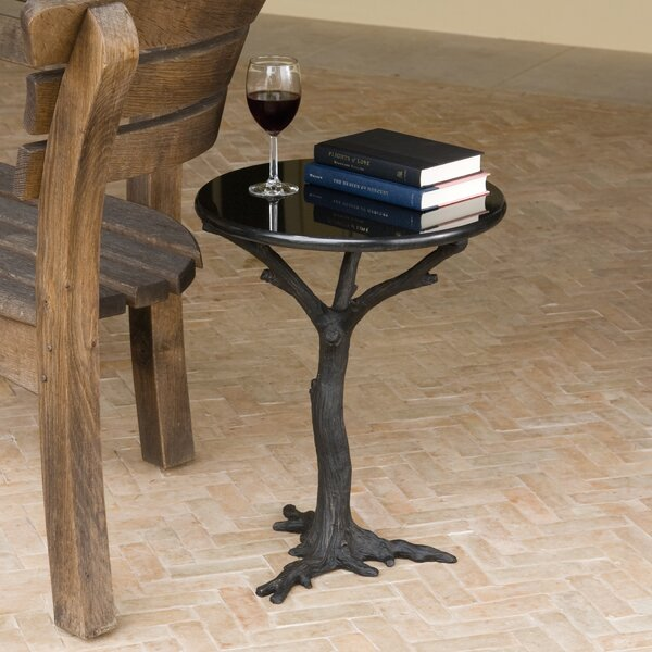 Faux Bois End Table by Global Views
