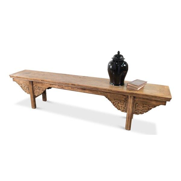 Antique Wood Bench by Sarreid Ltd