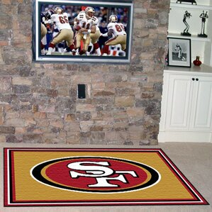 NFL - San Francisco 49ers 4x6 Rug by FANMATS
