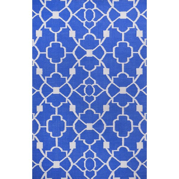 Ozzie Blue Indoor/Outdoor Area Rug by Alcott Hill