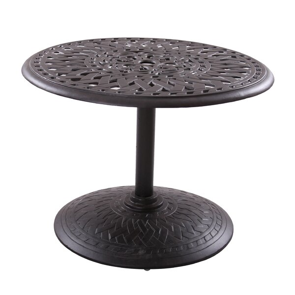 Fairmont Traditional Chat Table by Astoria Grand