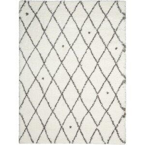 Riad Ivory/Gray Area Rug