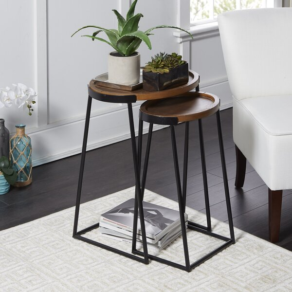 Home & Garden Wym 2 Piece Nesting Tables