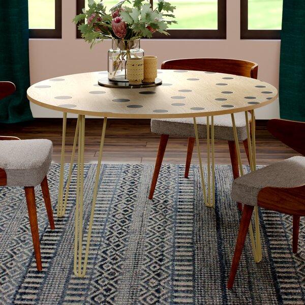 Bischoff Solid Wood Dining Table by Brayden Studio