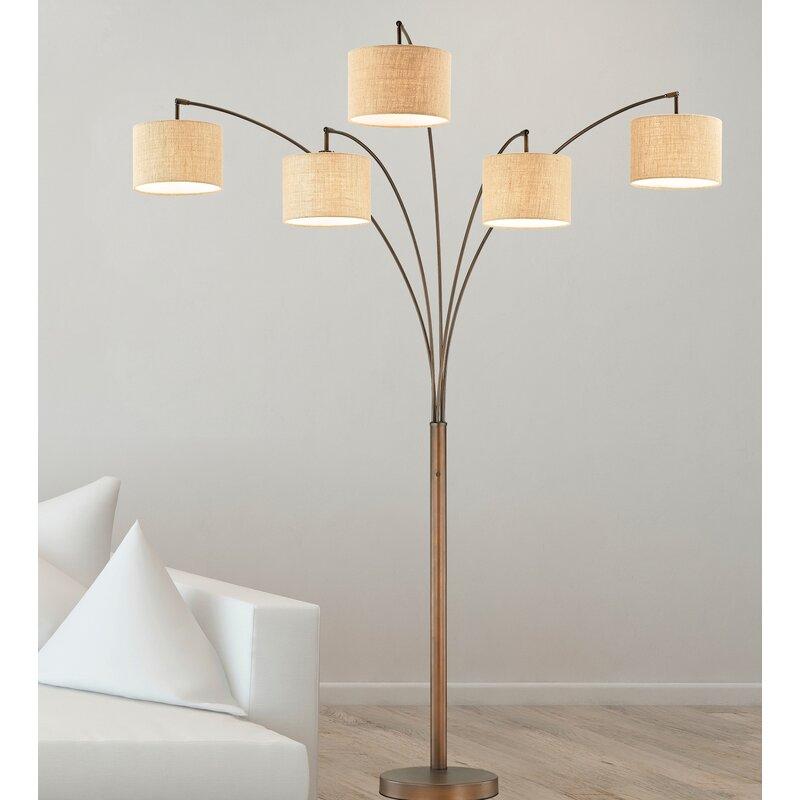 Lehigh 83 led tree floor lamp reviews allmodern lehigh 83 led tree floor lamp aloadofball Gallery
