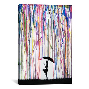 'Persephone' Painting Print on Wrapped Canvas by Zipcode Design