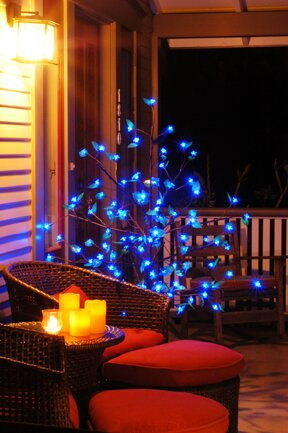 Anywhere 90-Count LED Tree by Exhart