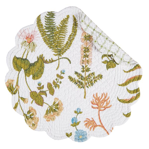 Anessa 17 Placemat (Set of 6) by C&F Home
