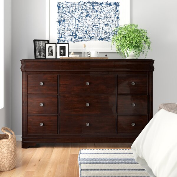 Yadiel 9 Drawer Dresser by Alcott Hill