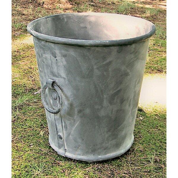Dillard Galvanized Steel Pot Planter by Williston Forge