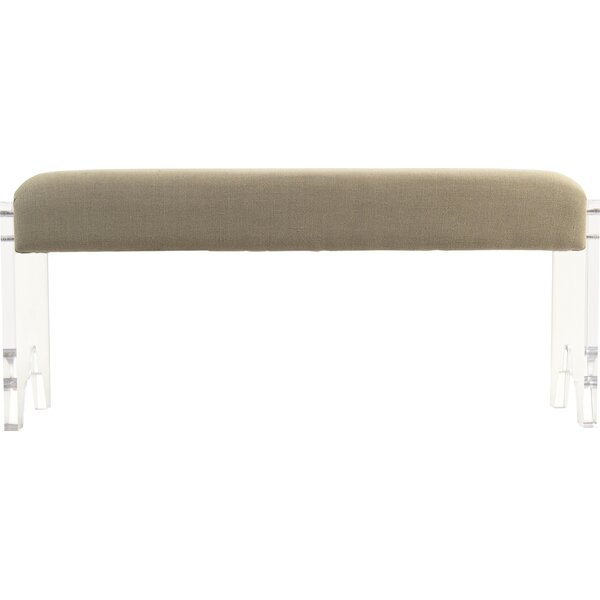 Addie Upholstered Bench by Zentique Zentique