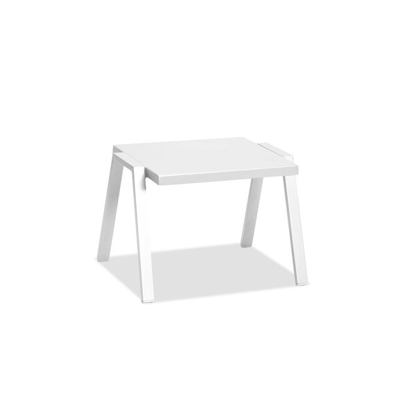 Indianola Metal Side Table by Orren Ellis