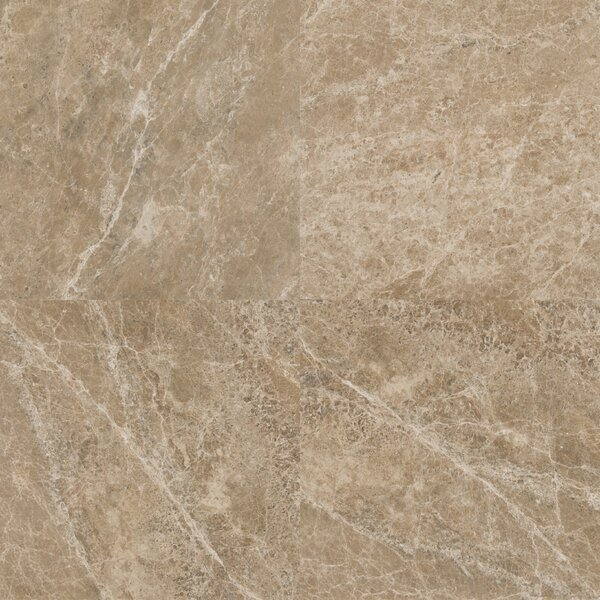 18 x 18 Marble Field Tile in Emperador Light by MSI