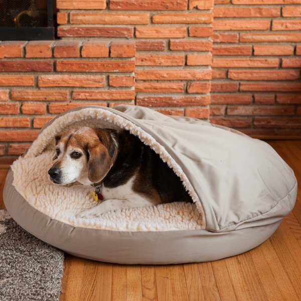 Cozy Cave Hooded Dog Bed by Snoozer Pet Products