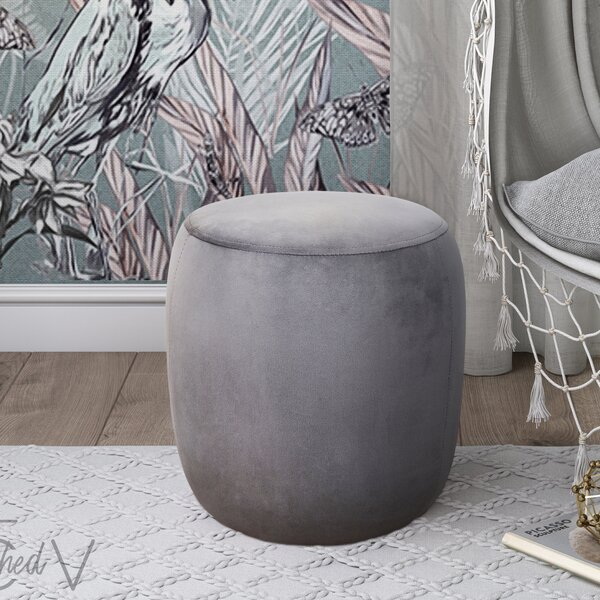 Mortenson Pouf by House of Hampton