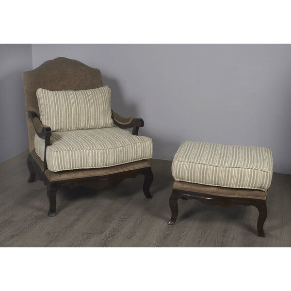 Bever Lounge Chair and Ottoman by Darby Home Co