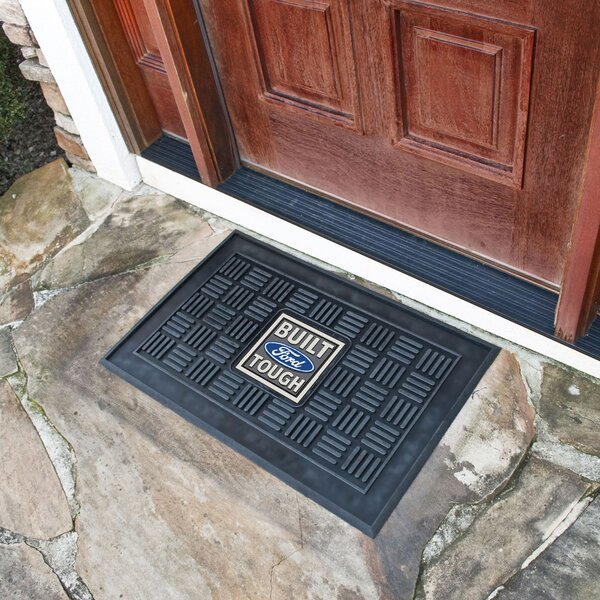 Ford - Built Ford Tough Medallion Doormat by FANMATS