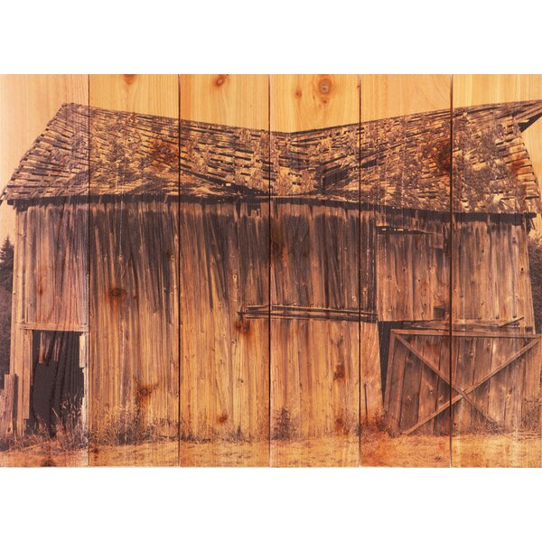 Old Barn Photographic Print by Gizaun Art