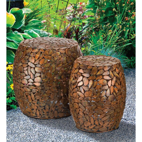 2 Piece Garden Stool Set by Regal Art & Gift