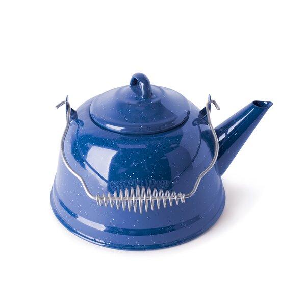 Cast Steel 3-qt. Tea Kettle by Stansport