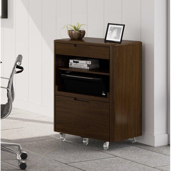 Sola 2-Drawer Vertical Filing Cabinet