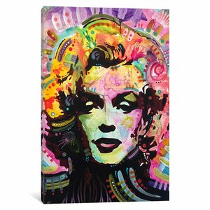 'Marilyn III' Graphic Art on Wrapped Canvas by East Urban Home