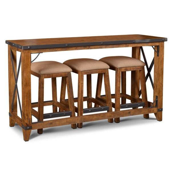 Bridgeman 4 Piece Pub Table Set (Set of 4) by Loon Peak