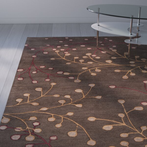 Middlebrooks Hand-Tufted Peanut Butter Area Rug by Red Barrel Studio