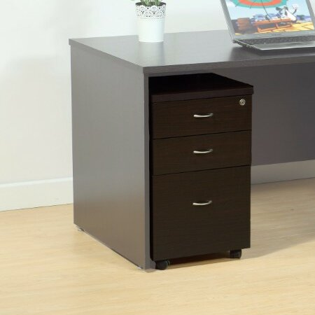 Mapes Spacious 3 Drawer Vertical Filing Cabinet by Red Barrel Studio