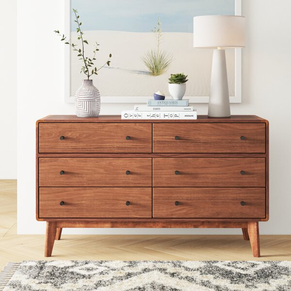 Rodney 6 Drawer Double Dresser By Foundstone by Foundstone Best Choices