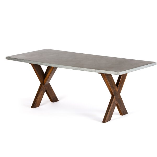 Schuh Solid Wood Dining Table by Gracie Oaks Gracie Oaks