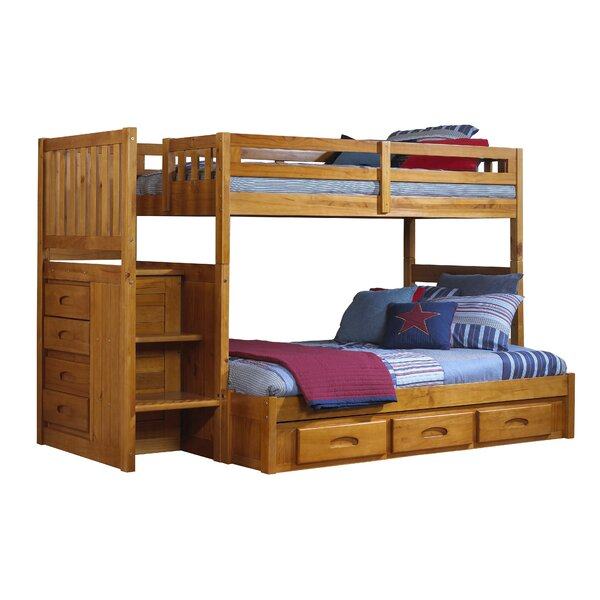 Juhasz Twin over Full Bunk Bed with Drawers by Viv + Rae